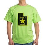 Genola Police Green T-Shirt
