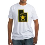 Genola Police Fitted T-Shirt