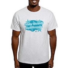 Blue Long Beach T-Shirt