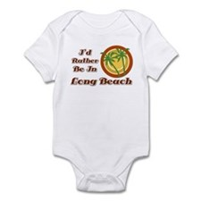 Rather Be In Long Beach Infant Bodysuit