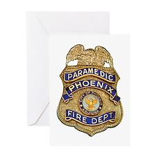 Phoenix Fire Department Greeting Card