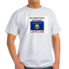 My Montana Grandma Loves Me T-Shirt
