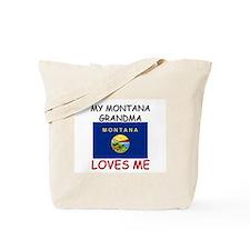 My Montana Grandma Loves Me Tote Bag