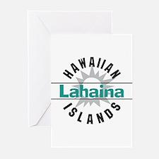 Lahaina Maui Hawaii Greeting Cards (Pk of 20)