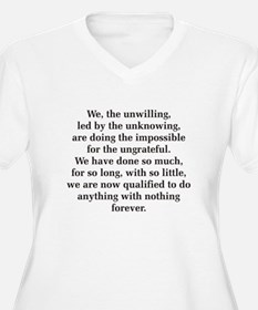 We The Unwilling T-Shirt