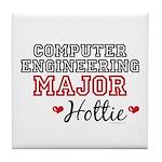 Computer Engineering Major Hottie Tile Coaster