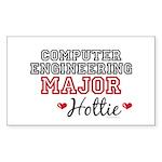 Computer Engineering Major Hottie Sticker (Rectang