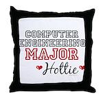 Computer Engineering Major Hottie Throw Pillow