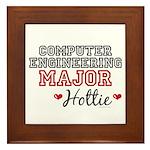 Computer Engineering Major Hottie Framed Tile