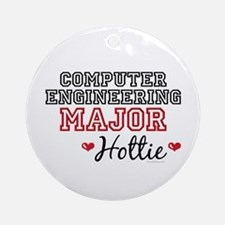 Computer Engineering Major Hottie Ornament (Round)