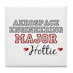 Aerospace Engineering Major Hottie Tile Coaster
