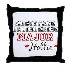 Aerospace Engineering Major Hottie Throw Pillow