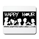 Happy Hour Comic Mousepad