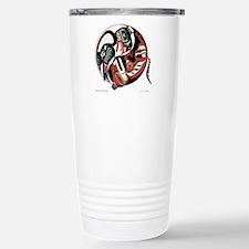 Eagle Wolf Yin-Yang Stainless Steel Travel Mug