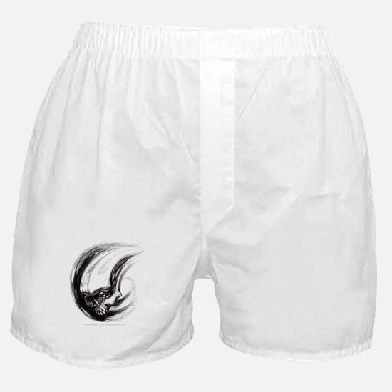 Skull Tattoo Design Boxer Shorts