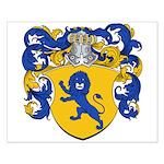 Van Geel Coat of Arms Small Poster
