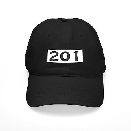 201 Area Code Black Cap