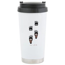Bear Paws Travel Coffee Mug