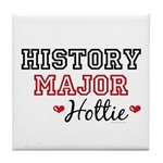 History Major Hottie Tile Coaster