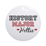 History Major Hottie Ornament (Round)