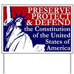 Statue of Liberty Oath of Office Yard Sign