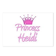 Princess Heidi Postcards (Package of 8)