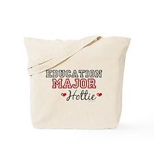 Education Major Hottie Tote Bag