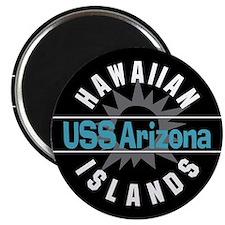 USS Arizona Hawaii Magnet