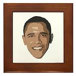 Obama Picture Framed Tile