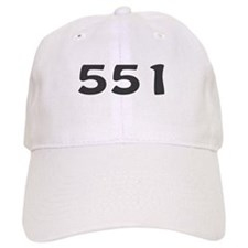 551 Area Code Baseball Cap