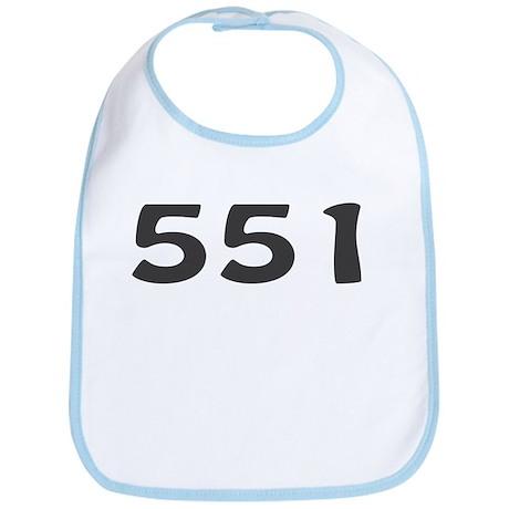 551 Area Code Bib