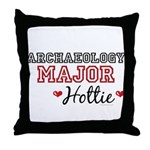 Archaeology Major Hottie Throw Pillow