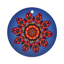 Apache Star Ornament (Round)