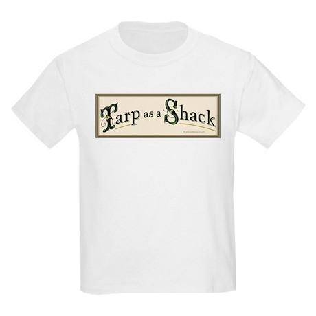 Tarp as a Shack Kids Light T-Shirt