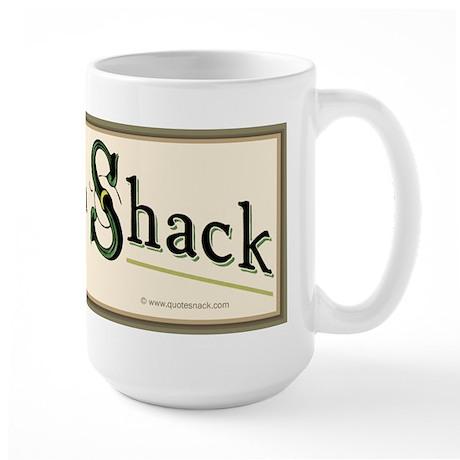 Tarp as a Shack Large Mug