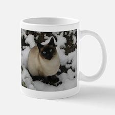 Siamese Snow Cat Mug
