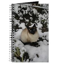 Siamese Snow Cat Journal