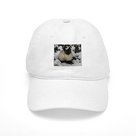 Siamese Snow Cat Cap