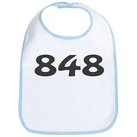 848 Area Code Bib