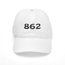 862 Area Code Baseball Baseball Cap