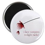 Twilight I Love Vampires Magnet