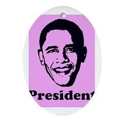 President Obama Oval Ornament
