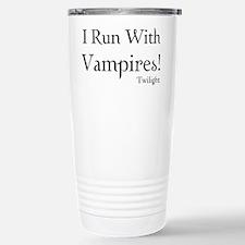 I Run With Vampires Travel Mug
