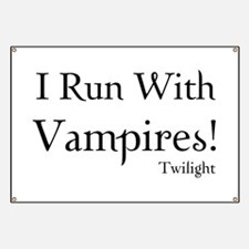 I Run With Vampires Banner