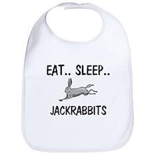 Eat ... Sleep ... JACKRABBITS Bib