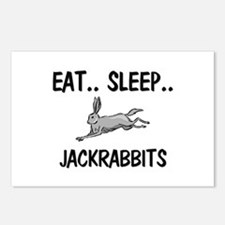 Eat ... Sleep ... JACKRABBITS Postcards (Package o