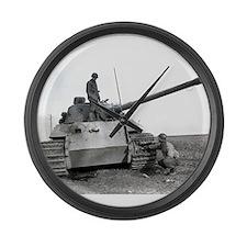 Unique Panzer Large Wall Clock