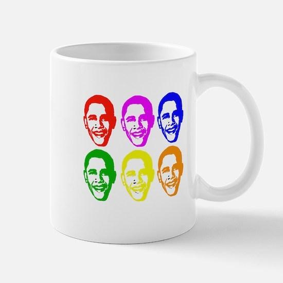 Obama Rainbow Mug