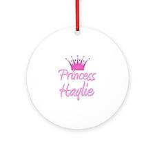 Princess Haylie Ornament (Round)