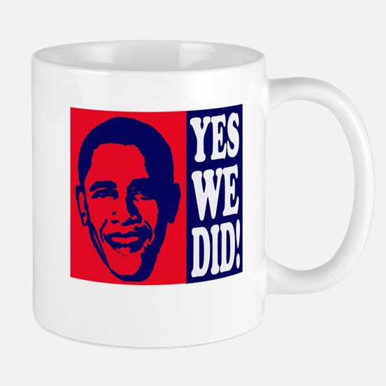 Yes We Did! Mug
